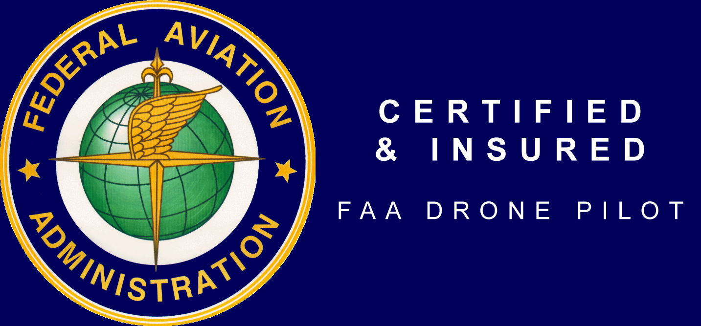 FAA Certified and Insured Drone Pilot